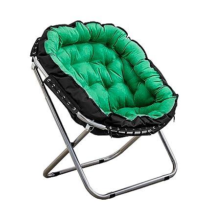 Amazon.com: Silla reclinable plegable de mesa, silla de luna ...