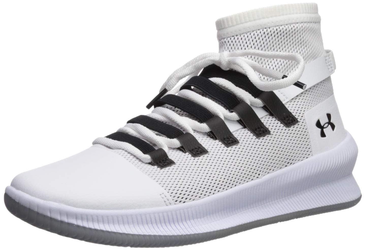 under armour m tag white
