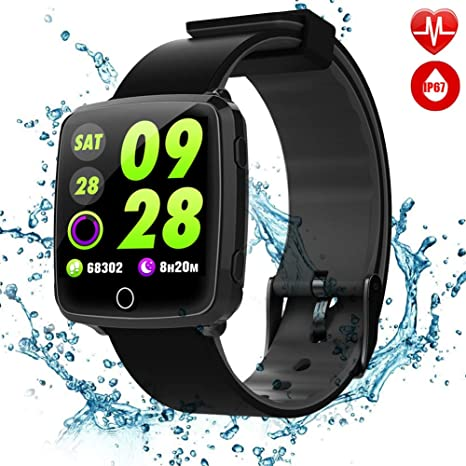 "Tagobee Waterproof TB08 Reloj Inteligente Bluetooth 1.3""HD Color Compatible con Andriod y iPhone."