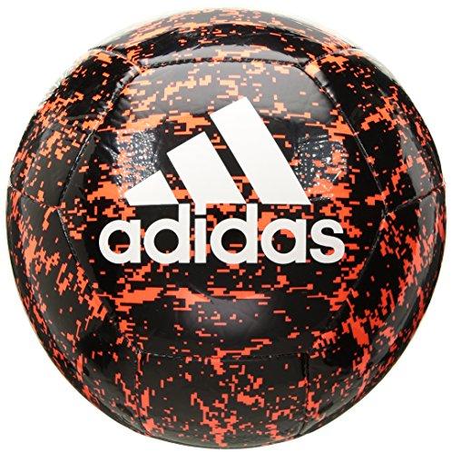 adidas Glider II Soccer Ball, Black, Size 4 ()