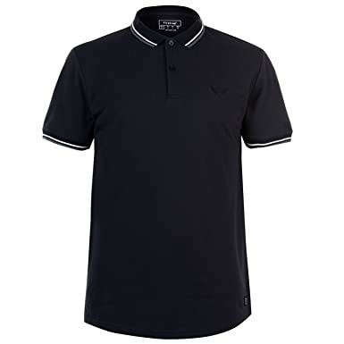 335190f1 Firetrap Mens Lazer Slim Fit Polo Shirt Navy M: Amazon.co.uk: Clothing