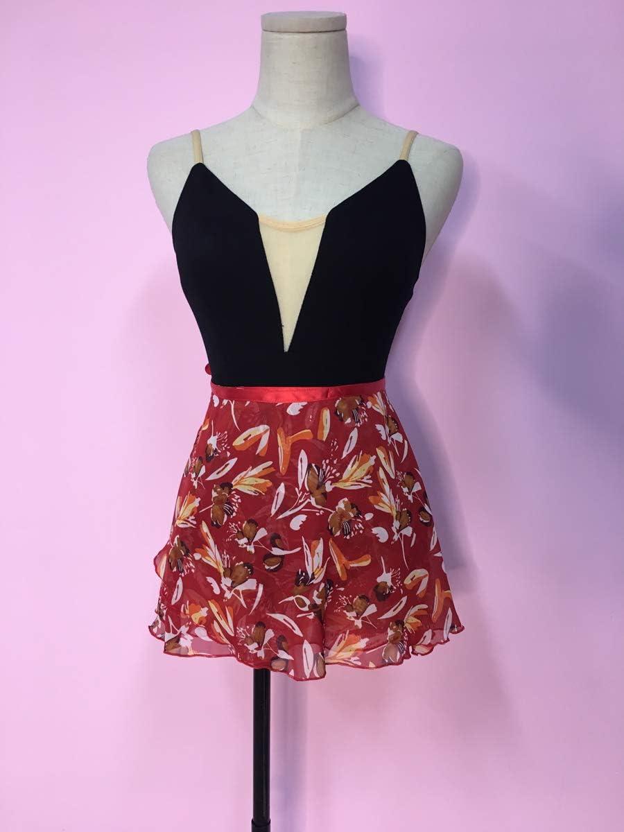 ModLatBal Girls Ballet Dance Chiffon Wrap Skirt