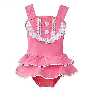 DINGANG® Girls Baby Tankini Swimsuit Bikini Swimwear Kids Swimming Costume Beachwear With Headband  sc 1 st  Amazon UK & DINGANG® Girls Baby Tankini Swimsuit Bikini Swimwear Kids Swimming ...