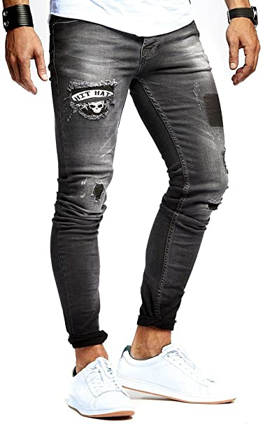 LEIF NELSON Hombre Jeans Pantalones Vaqueros del ...