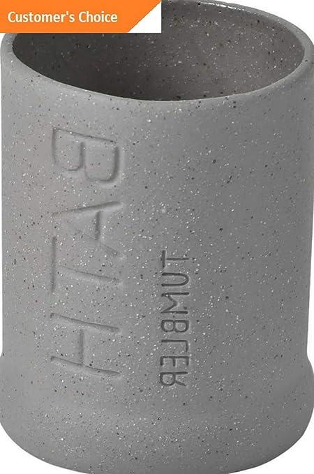 Amazon.com: Hebel 6175104 Stoneware Tumbler Bath Sand Stone ...