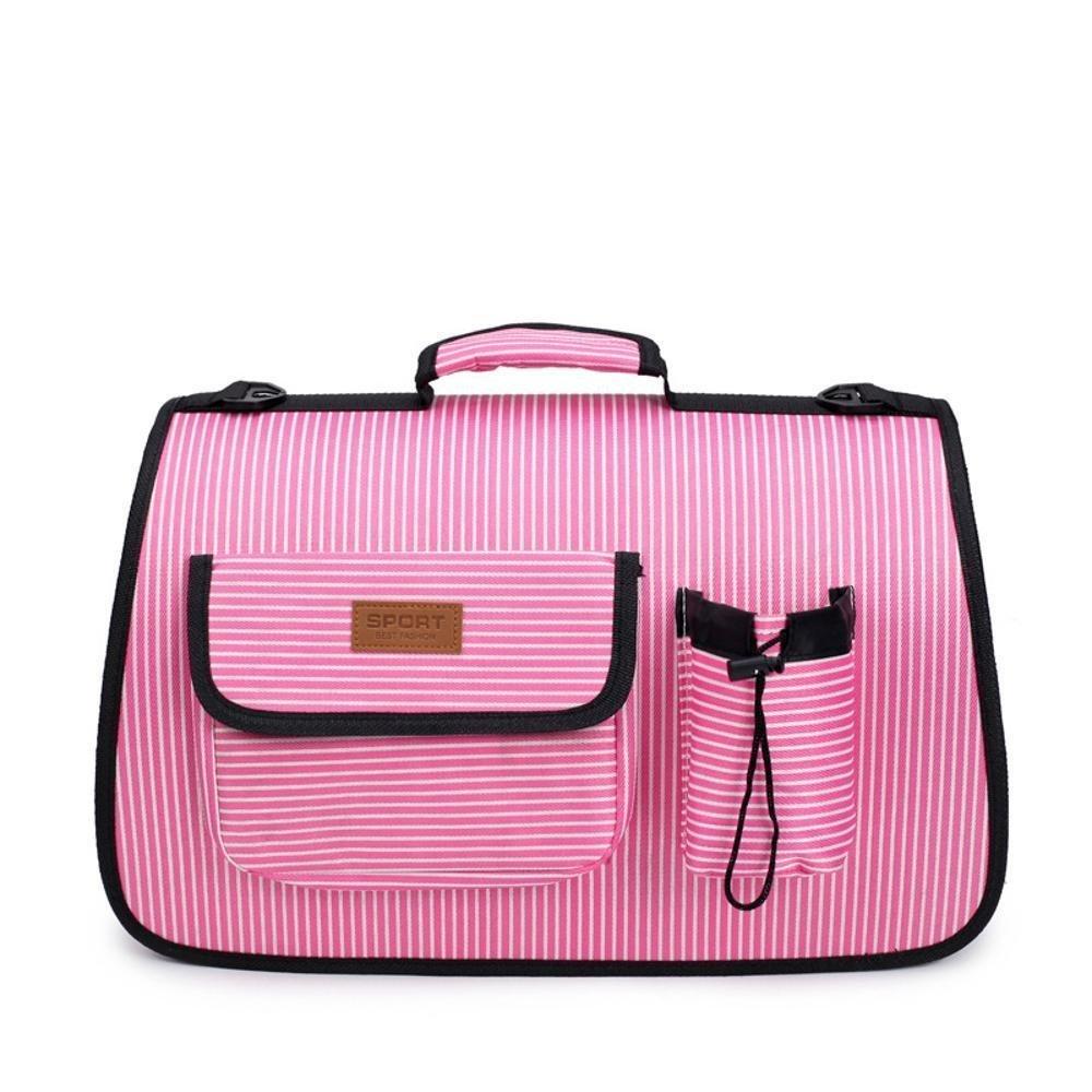 Medium Dixinla Pet Carrier Backpack Multifunctional foldable bag cat dog out portable travel handbag nylon