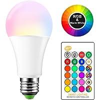 ONEVER 15W RGBW LED E27 Cambio de color