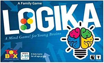 toyztrend Mind Challenging Game logika for Kids to Enhance Their Mind and Develop Brain