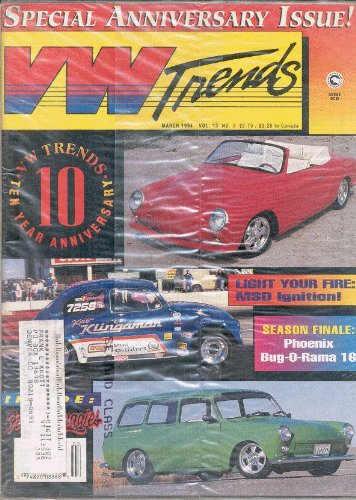 Magazine Vw Trends (VW Trends Magazine Tenth Anniversary Issue March 1994 (Volume 13 Number 3))