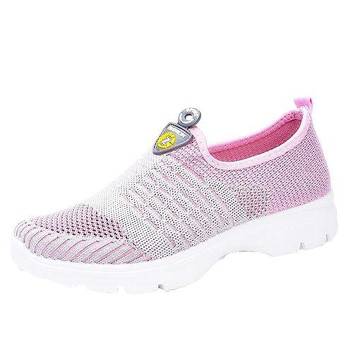 Beladla Zapatillas Mujer Deporte Running Zapatos para Correr Gimnasio Sneakers Deportivas Padel Transpirables Casual Zapatos De Baile: Amazon.es: Ropa y ...