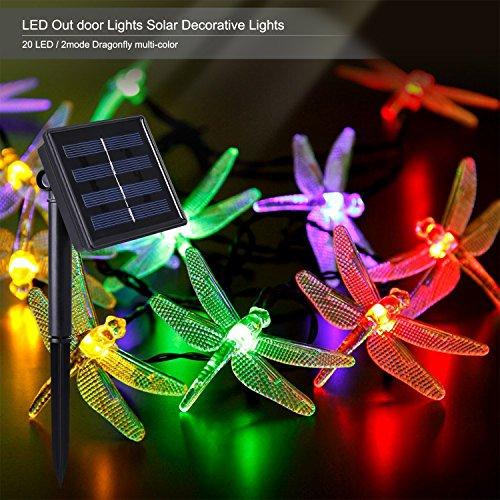 Outdoor Solar Power Decorative String Lights, C...