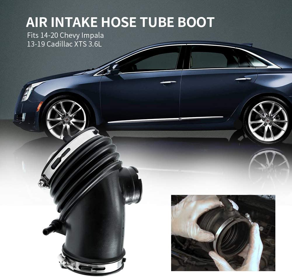 Air Intake Hose Replacement for 2014-2019 Chevy Impala 2013-2019 Cadillac XTS 3.6L Replace 20885923 22887315 22935937