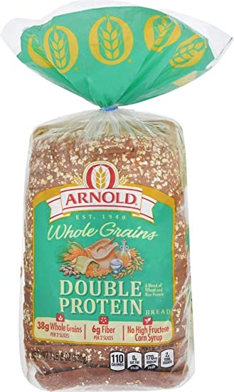 Image Unavailable. Image not available for. Color: Arnold, Double Protein Bread ...