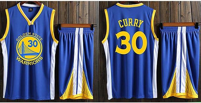 YHEB Uniforme de Baloncesto Warriors Curry, Tejido Transpirable y ...