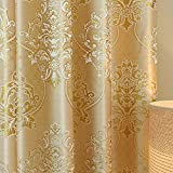 YoumeiHome Thermal insulated blackout window curtain,European printing curtains Sold per panel-B 5998inch For Sale