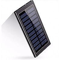 Beavers21 Office Premium Solar Powerbank 20 000 mAh, ultracienki, akumulator litowo-polimerowy, 2 wyjścia USB, szybkie…