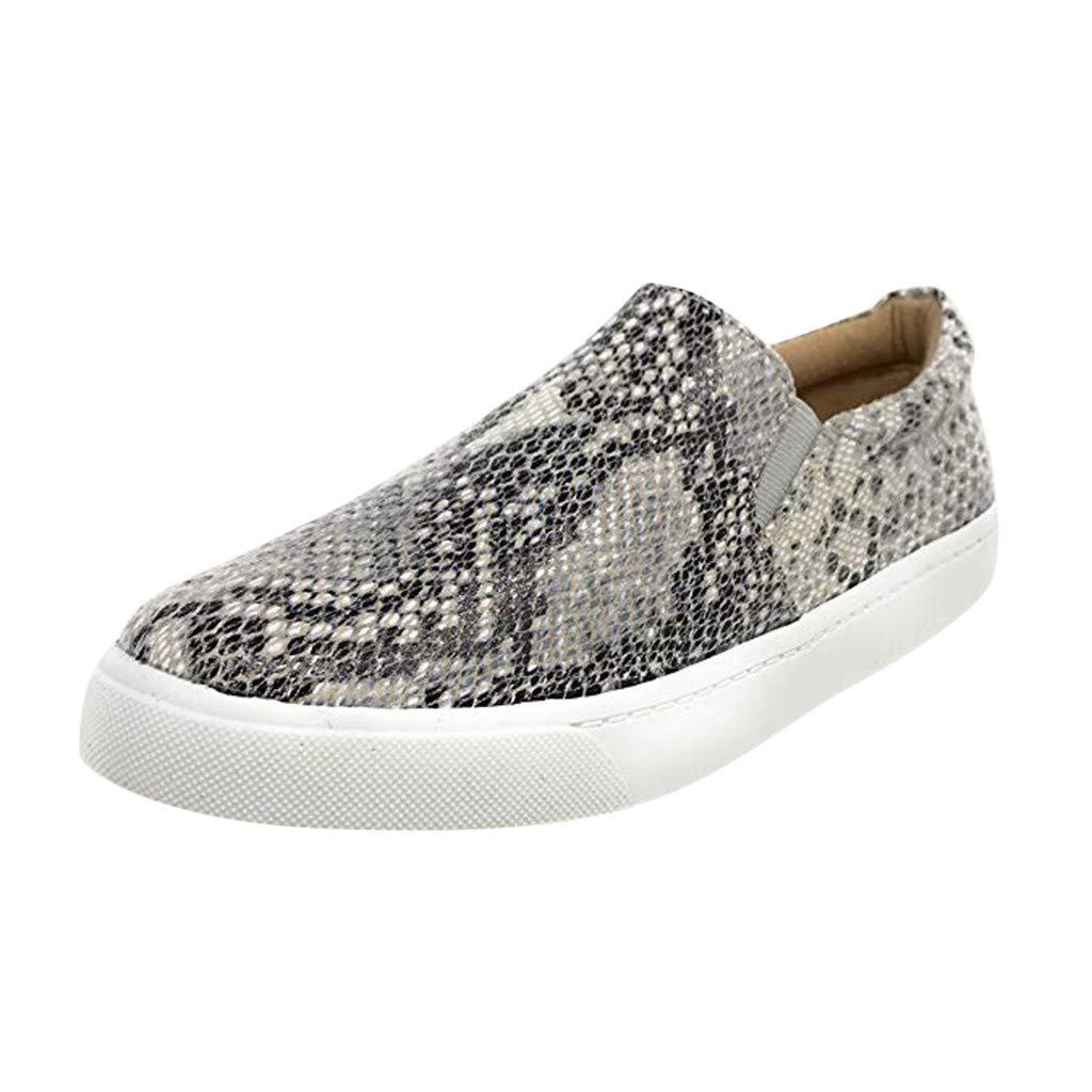 1aa7282103b70 Amazon.com: Emimarol Women's Platform Sneakers Leopard Print Loafers ...