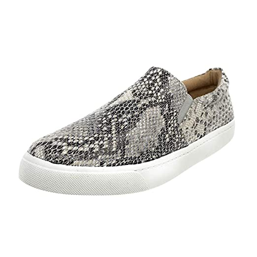 b445172e64946 Amazon.com: ZOMUSAR 2019 Shoes, Women Fashion Retro Serpentine ...