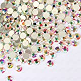 1440PCS Sc0nni Resin Crystal AB round Nail Art Mixed Flatbacks Rhinestones Gems 5mm ss20
