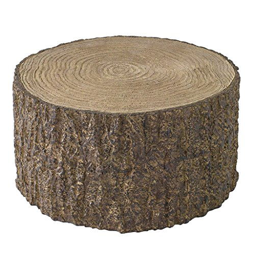 Time Concept Decorative Resin Stump Display - Extra Large - Tree Log Design, Home & Garden Decor, Multipurpose Rack from Time Concept