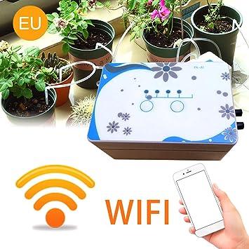 WiFi Remote Control Timer Automatische Rasen Gartenbewässerung Bewässerungssyste