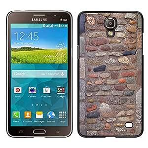 EJOY---Cubierta de la caja de protección para la piel dura ** Samsung Galaxy Mega 2 ** --Pattern Pared adoquín antiguo antiguo