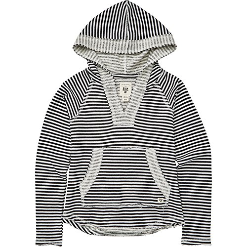 Billabong Big Girls' Laid Back Hoody, Black/White, XS by Billabong