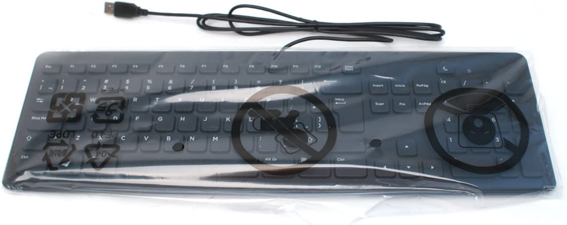 GDPPG Model Number: KB113P GDPPG Genuine Dell RND64 KB113P Spanish Latin Slim Quiet 104-Key Black USB Keyboard for Desktop and Notebook Systems Dell Part Numbers: RND64