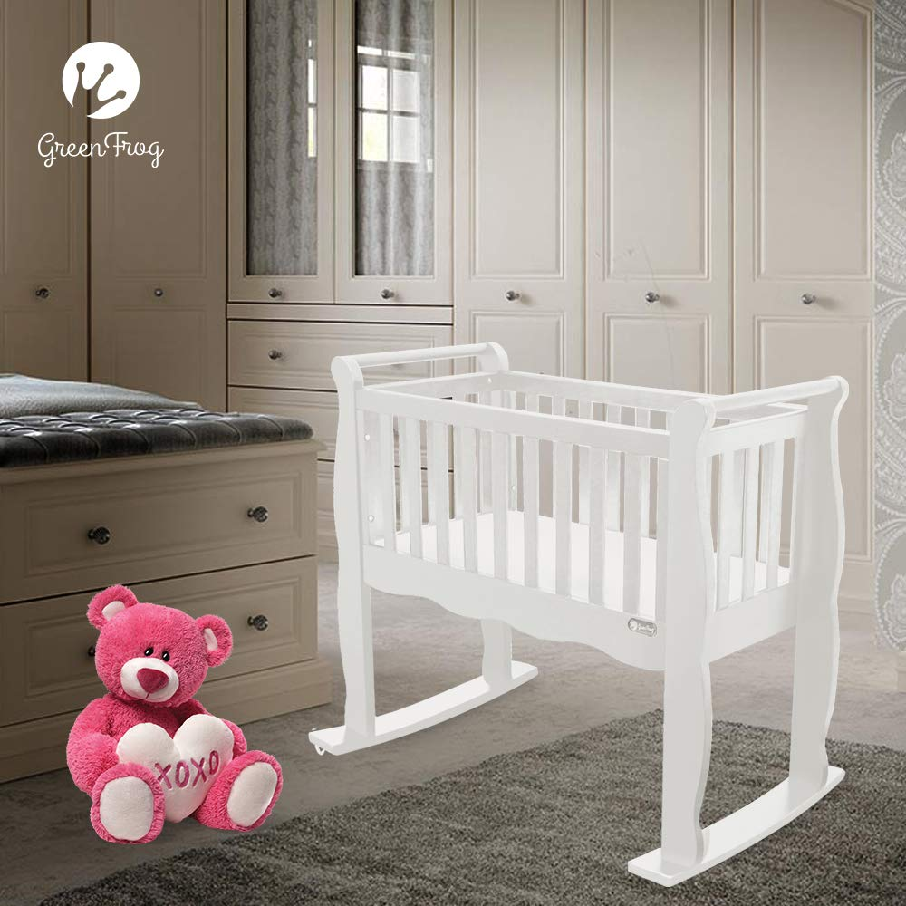 Grey Now and Forever Baby Cradle