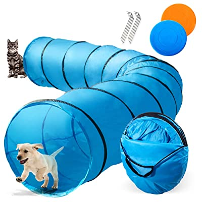 Dog Tunnel 16.5ft Agility Pet Training Tunnel Tube