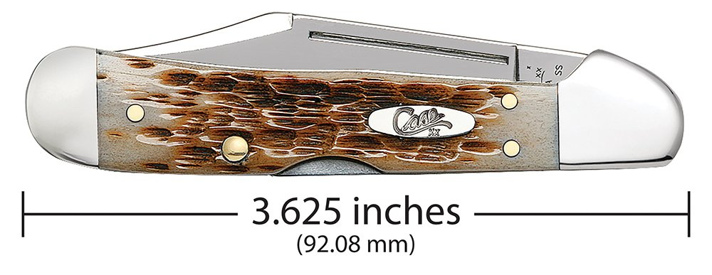 Case 133 Amber Bone PCH Seed Jig Mini CopperLock 61749L SS by Case (Image #2)