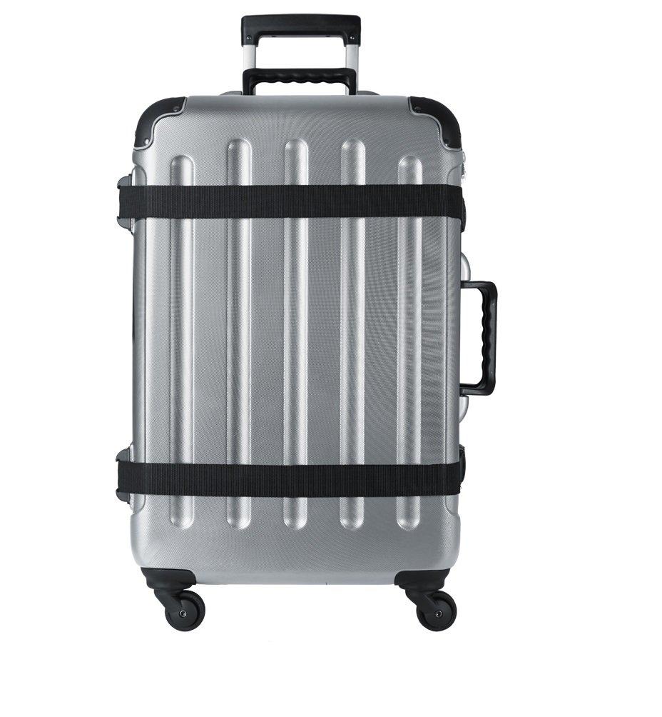 VinGardeValise Wine Travel Suitcase (12 Bottle) Newest Model (One Size, Silver)