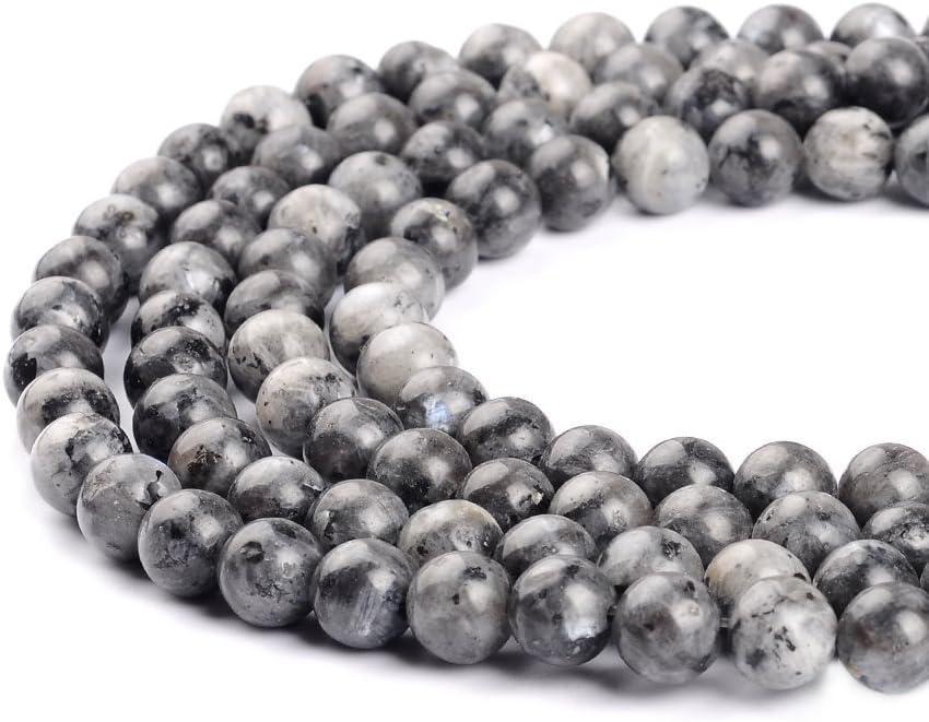 63 beads Round 6 mm Gemstone Beads A Quality Tibetan Black Onyx Beads Full Strand 16