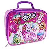 Shopkins Rectangular Lunch Kit Bag, Pink, 9.5x7.5x3.5 Inches