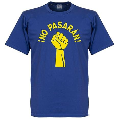 cded4f7a No Pasarán Kids - Camiseta para Niños, color azul/amarillo Azul azul real:  Amazon.es: Ropa y accesorios