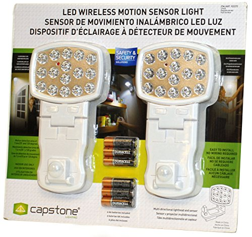 Capstone Wireless Motion Sensor Light product image