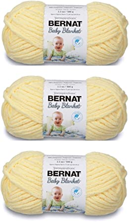 Spinrite 161103-3512 Baby Blanket Yarn-Baby Peach