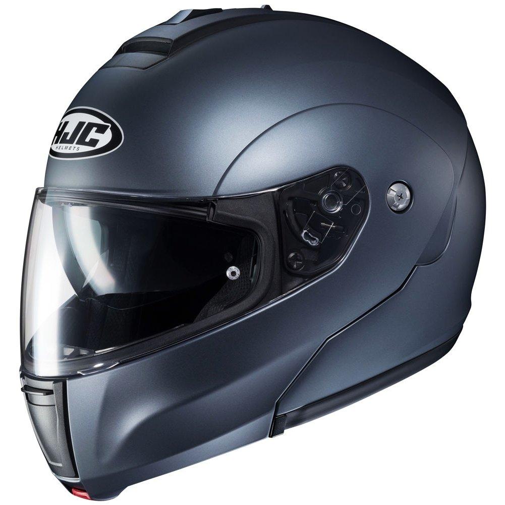 Semi Flat Anthracite//Medium HJC Solid Mens CL-MAX 3 Modular Street Motorcycle Helmet