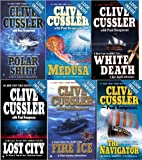 img - for 6 Book Set : Clive Cussler - Kurt Austin Adventure Series - A Novel from the Numa Files - Fire Ice, White Death, Lost City, Polar Shift, The Navigator + Medusa (Kurt Austin Adventure Set Series Collection NUMA Special Assignments, 3, 4, 5, 6, 7, 8) book / textbook / text book