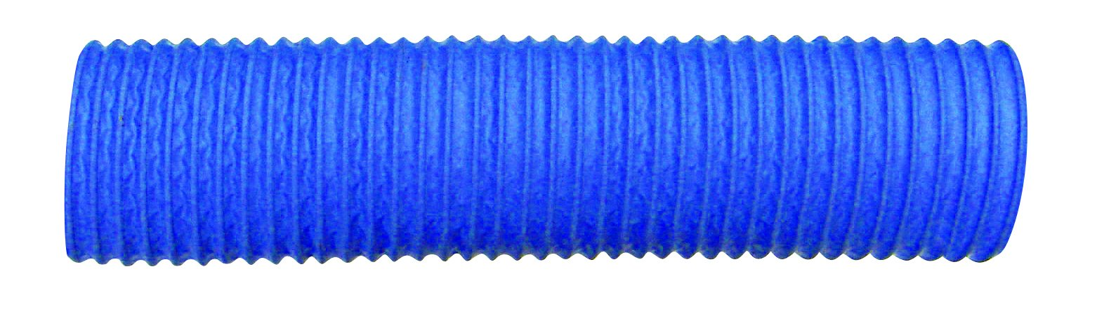 Trident Marine 481-4000 Polypropylene Heavy Duty Polyduct Blower, Vent Hose, 8 psi Maximum Pressure, 50' Length x 4'' ID, Blue (Pack of 50)