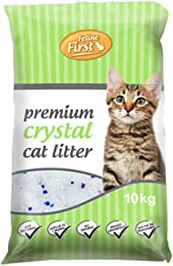 Feline First Premium Crystal Cat Litter 10 kg