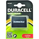 Duracell Premium Analog Canon BP-827 Battery for Camcorder HF10 HG20 Li-Ion 7.4V 2550mAh