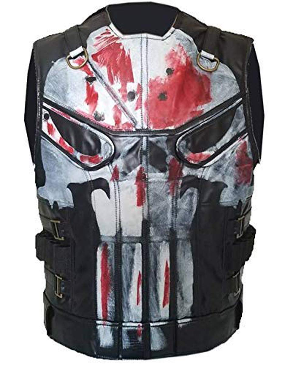 Mens The Leather Vest Vest Season 2 Small to 5XL by MotorCycle Jacket