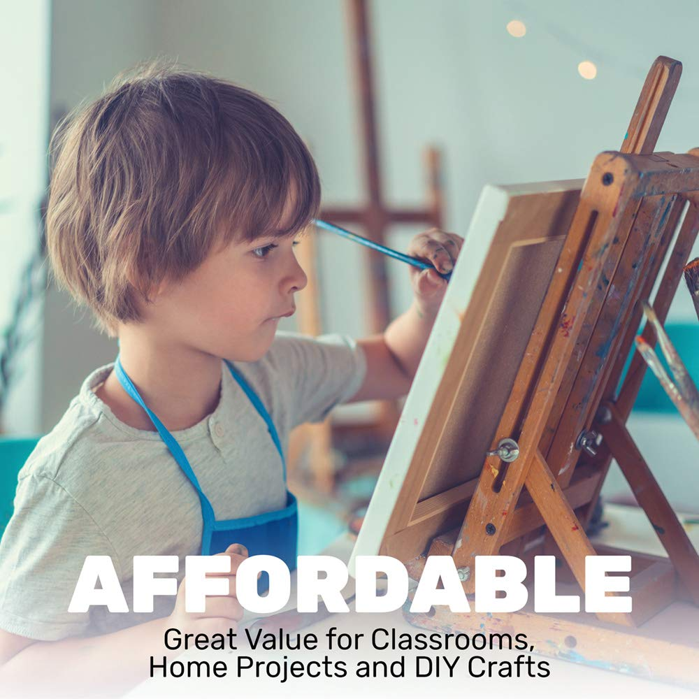 Constructive Playthings Gallon Tempera Kids Paint Set with 9 Non-Toxic Washable Colors: Industrial & Scientific