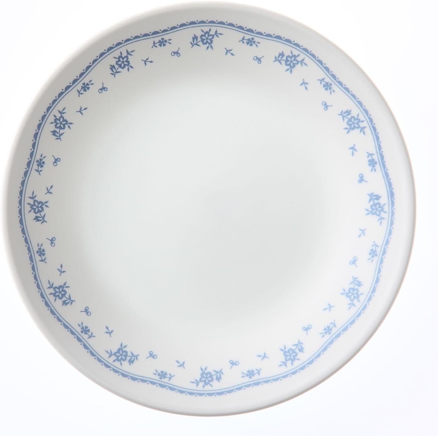 Corelle Livingware Morning Blue 8 Salad Luncheon Plate by CORELLE