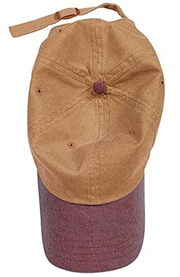 Authentic Pigment 1910 Pigment-Dyed Baseball Cap-Brick Yam-One Size ... 4d86c6c74af9