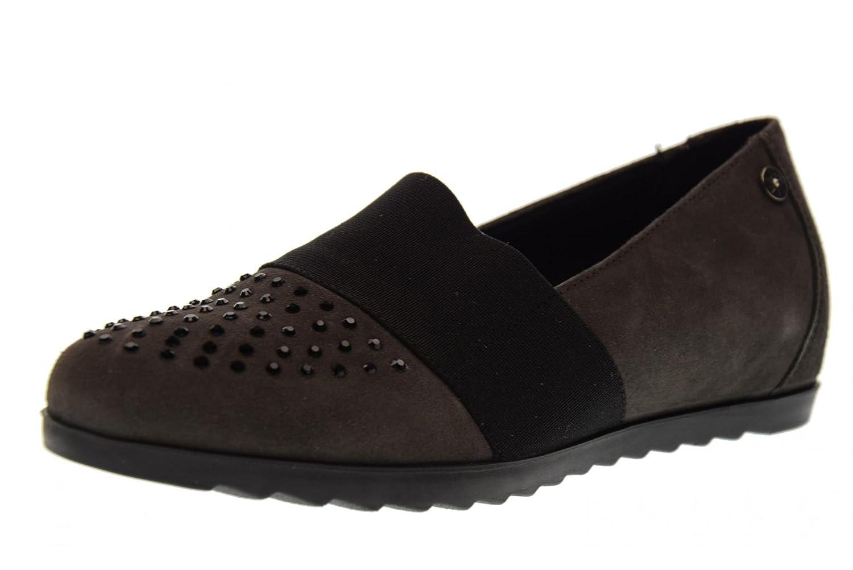 ENVAL SOFT scarpe donna ballerine zeppa interna 89352/00 Grigio Scuro