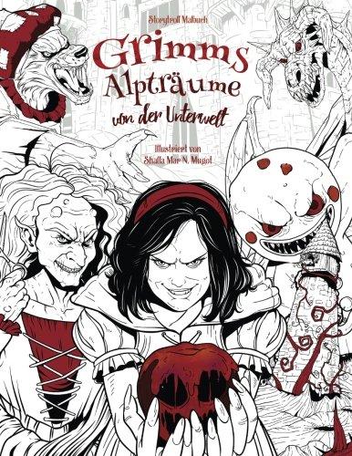 Grimms Alpträume von der Unterwelt: Malbuch für Erwachsene (Horror ...