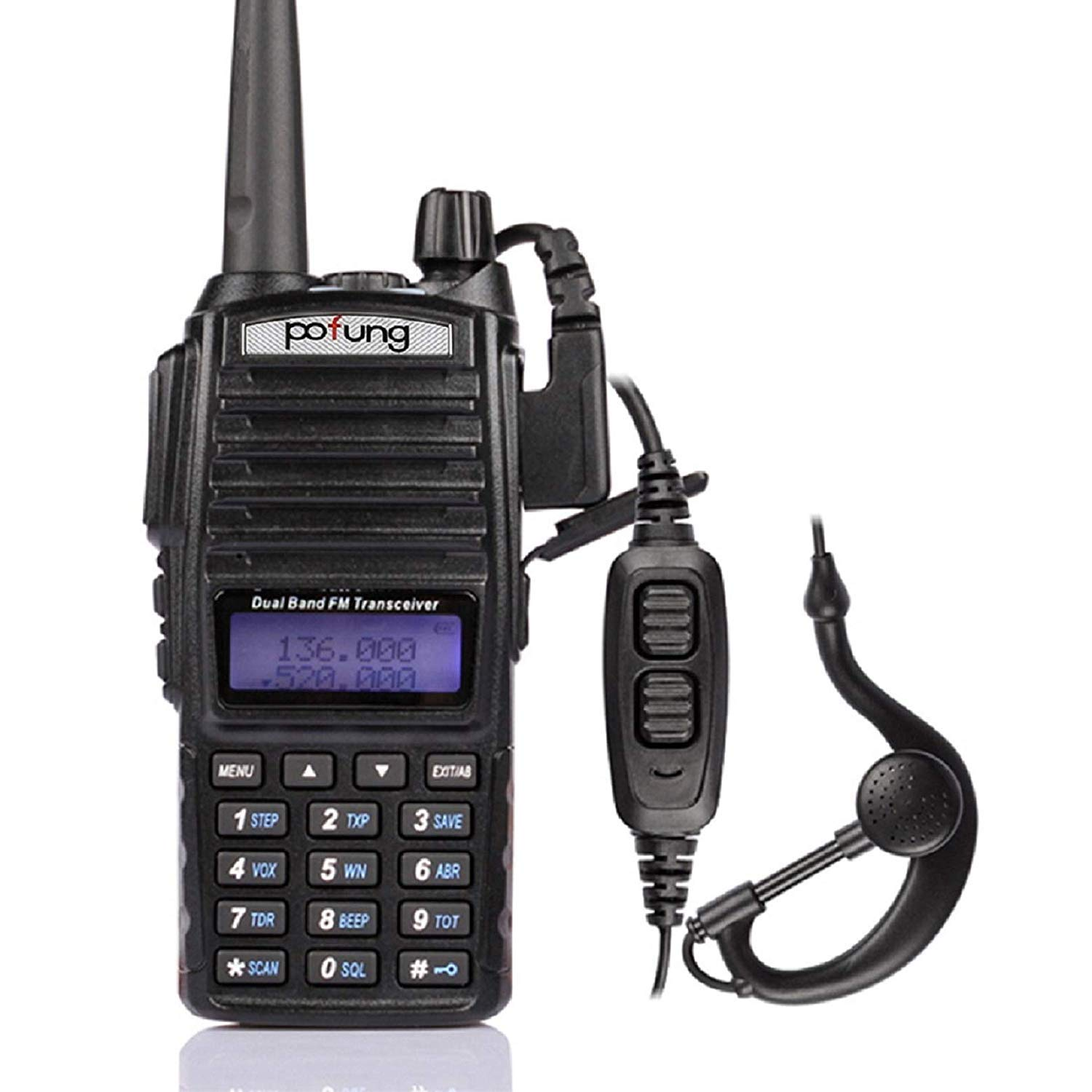 Pofung UV-82 VHF UHF FM Transceiver Dual Band Two Way Radio by BAOFENG