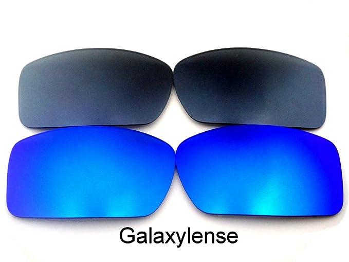 Galaxylense lentes de repuesto para Oakley Gascan azul y gris Color  Polarizados 2 Pares,GRATIS 5767d7aeec